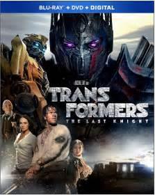 ritter decken transformers the last dvd release date september