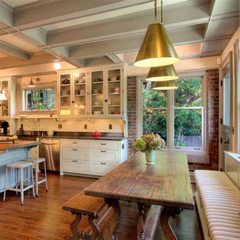 28 40 rustic kitchen designs to rustic kitchen adding farmhouse charm kitchen seating bricks and