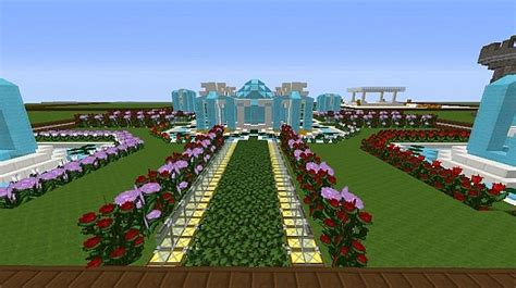 my flower garden my flower garden minecraft project