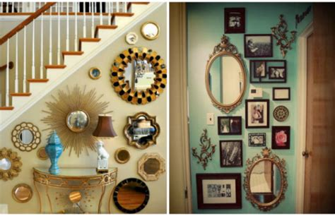 mirror collage wall decor the most iconic wall mirrors