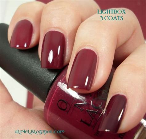 my color this week malaga wine by opi ok