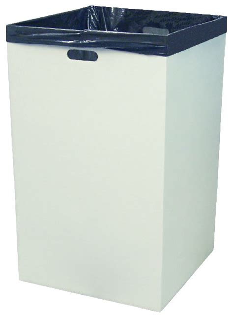 Polybag 18x18 10 Lembar 18 x 18 x 30 white corrugated trash containers
