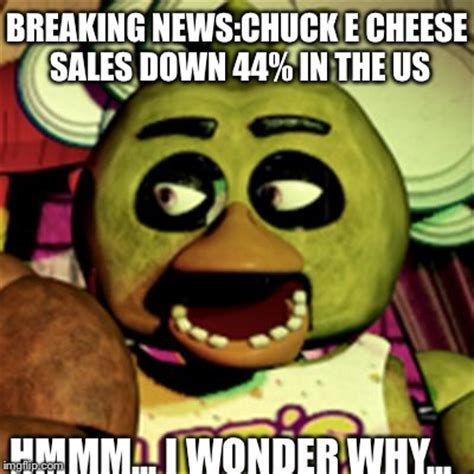 Chuck E Cheese Meme - hooray i just saw the fnaf 3 teaser trailer imgflip