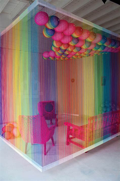 Rainbow Rooms by The Rainbow Room Installation Crochetime