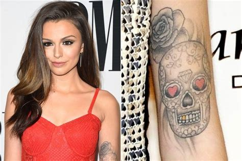 zimbio tattoo quiz cher lloyd celebrities with beautiful tattoos zimbio