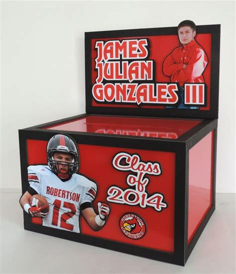 Gift Cards For Young Men - here s a graduation gift card money box in high gloss red with 2 really great photos