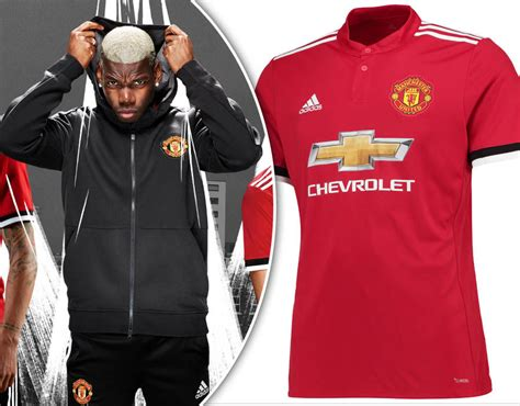 manchester united official 2017 1785492217 manchester united 2017 18 home kit launch red devils officially unveil new strip sport