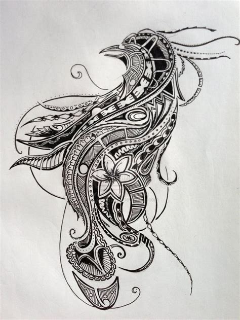 paradise tattoo designs polynesian bird of paradise design ii by