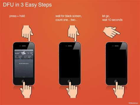 iphone mode iphone iphone 5 dfu mode