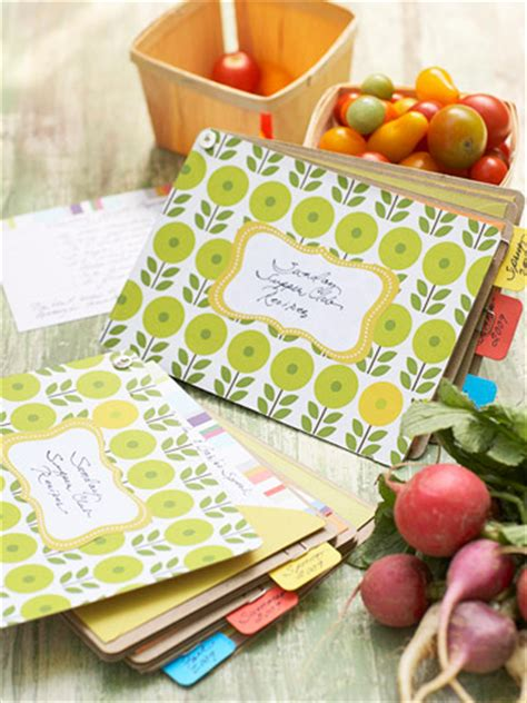Handmade Recipe Books - photo expressions easy gift idea pretty handmade recipe