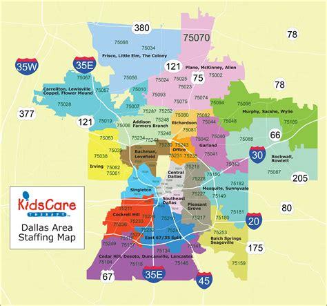 maps dallas kidscare therapy dallas maps