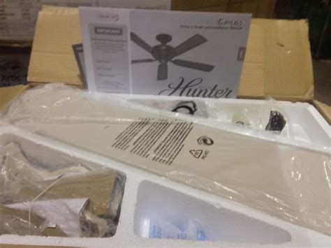 hunter caicos 52 in new bronze wet rated ceiling fan hunter 53211 caicos 52 in cottage white wet rated ceiling