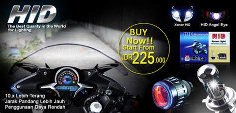 Reflektor Lu Hid Motor harga lu hid motor mortech panduan modifikasi motor lengkap dan terbaru