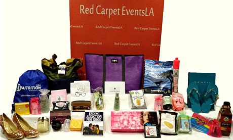 Grammys Gift Bag by Carpet Events La Grammy Awards Style Lounge 2014