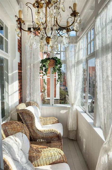 Sunroom Curtains 20 Small And Cozy Sunroom Design Ideas Home Design And