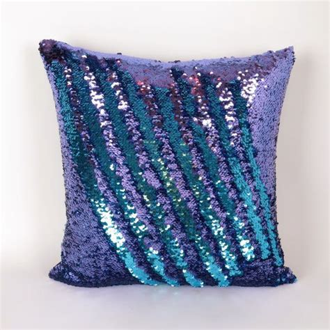 Monster High Bedroom Decorating Ideas mermaid pillow purple and turquoise reversible sequin