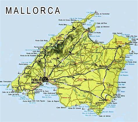 mallorca world map majorca and menorca maps