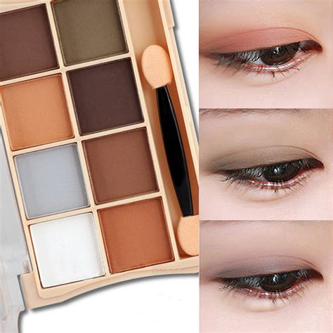 8 Colourful Makeup Palettes by Smoky Matte 8 Colors Eye Shadow Palette Makeup Eyeshadow