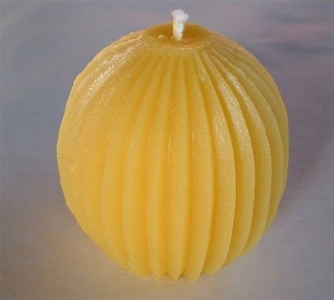 candela cera d api candela spicchi in pura cera d api per la casa e per te
