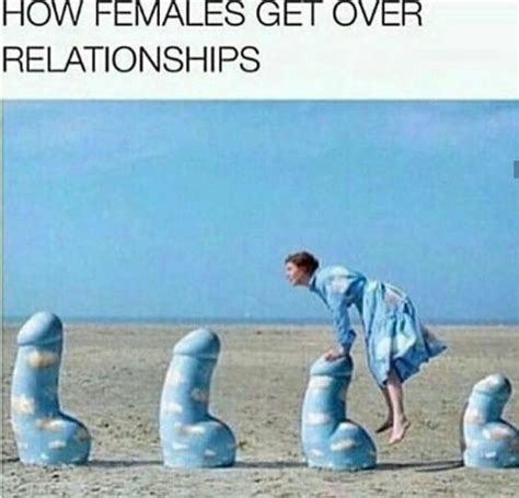 Memes For Adults - how females get over relationships adult meme