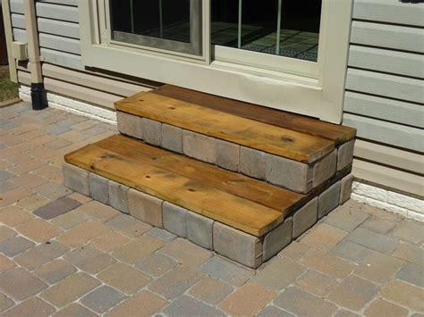 Diy Patio Steps diy stairs home decks porches