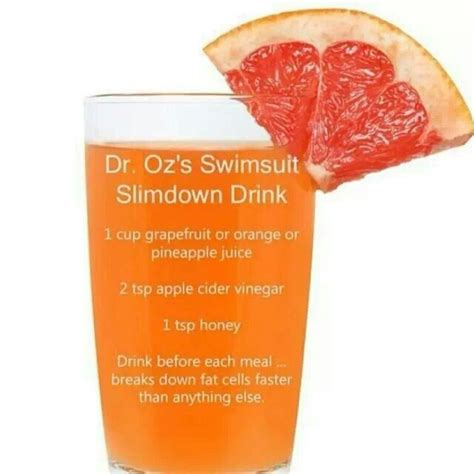 Detox Tea Weight Loss Dr Oz dr oz swimsuit slimdown drink reviews a health