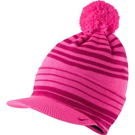 nike womens winter knit golf beanie hats