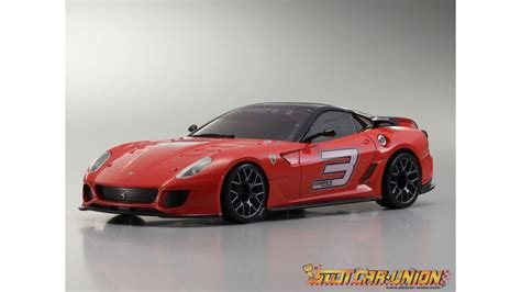 Mini Z Ferrari 599 by Kyosho Mini Z Mr03 Sports 2 Ferrari 599xx No 3 Rouge W Mm
