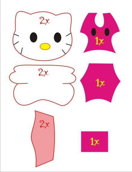 tutorial gambar hello kitty gambar hello kitty dowload clipart best