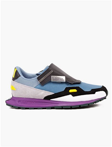 raf simons adidas sneakers adidas by raf simons formula one sneakers in multicolor