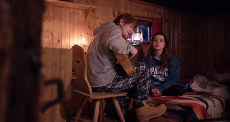 ed sheeran perfect music video cast ed sheeran debuts perfect music video starring zoey