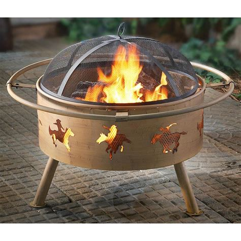 Cowboy Firepit Cowboy Pit 179776 Pits Patio Heaters At Sportsman S Guide