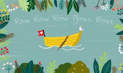 row row your boat secret row row row your boat a classic lullaby