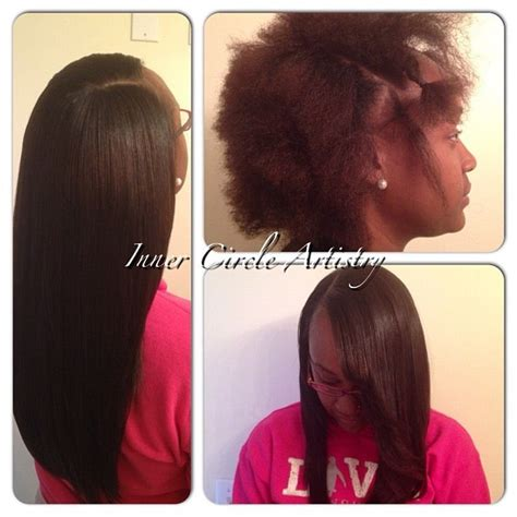 natural looking sew ins in tennessee amazing before after flawless sew in hair weaves by