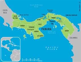 Panama Canal On World Map by Pics Photos Panama Canal World Map