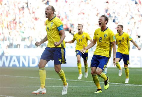 sweden vs south korea sweden vs south korea andreas granqvist breaks korean