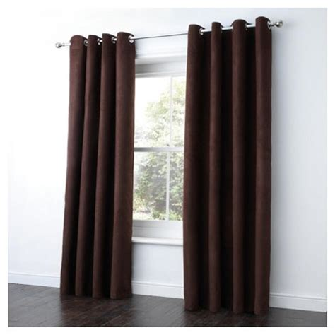 tesco eyelet curtains buy tesco faux suede unlined eyelet curtains w168xl229cm