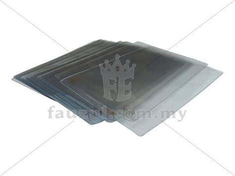 Transparent A4 Folder u shape transparent folder a4 24pcs fauzul enterprise