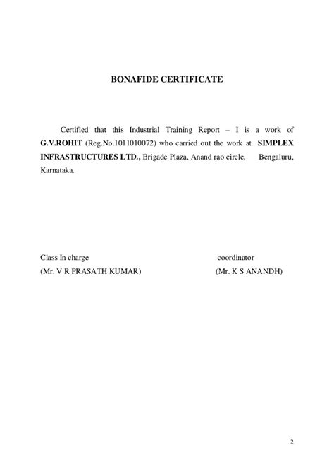 application letter for bonafide certificate from college for passport application letter bonafide certificate school