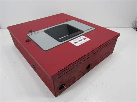 Alarm Notifier notifier rp 2001 alarm system panel