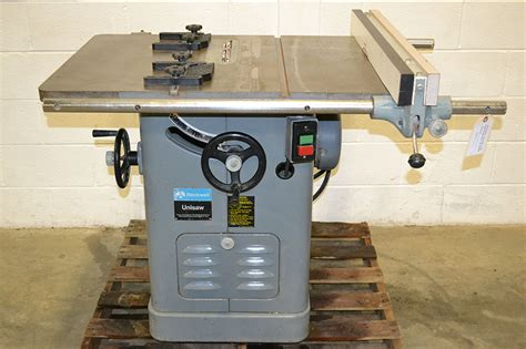 rockwell delta 34 466 10 quot right tilt table saw unisaw