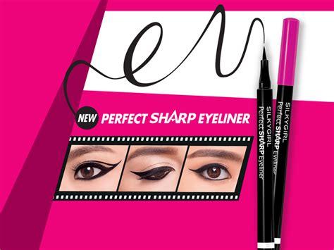 Silkygirl Sharp Eyeliner silkygirl sharp eyeliner 01 blackest black