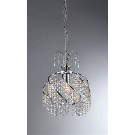 chandelier l shades home depot marie 4 light chrome indoor crystal chandelier with shade