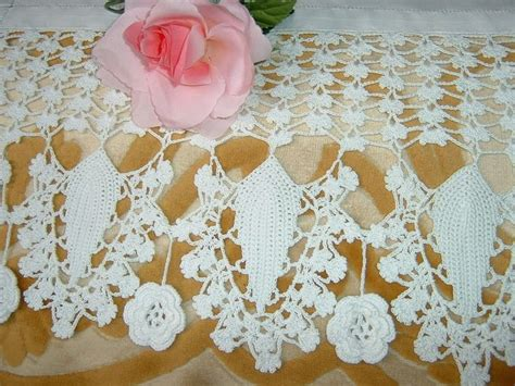 pizzi uncinetto per tende 114 best images about idee crochet per la casa on