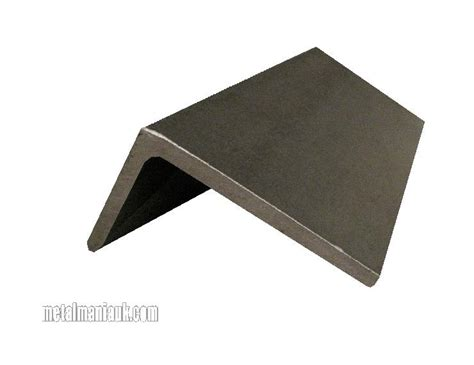 100 x 50 aluminium box section unequal angle steel 100mm x 50mm x 6mm