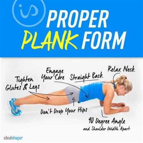 plank exercise diagram step up your plank workout idealshape