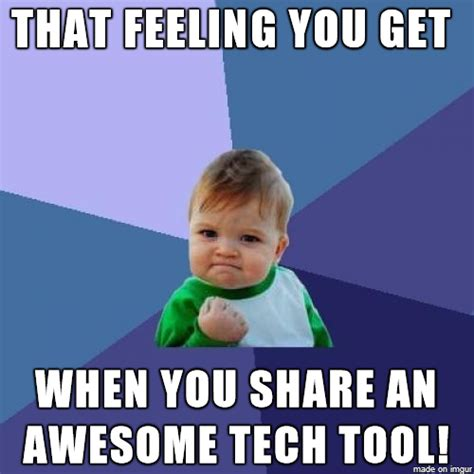 Technology Meme - creating and using meme images in the classroom emerging