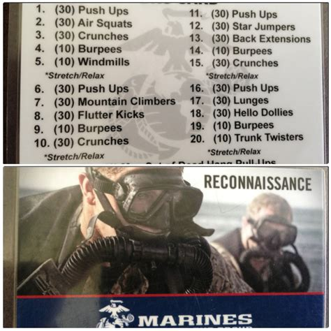 marine workout usmc