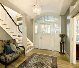 Popular Paint Colors For Foyers Forest View Residence Entry Hall Traditional Entry