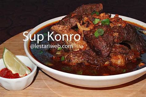 kumpulan resep asli indonesia  konro